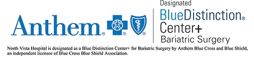 Anthem Blue Distinction Center+ Bariatric Surgery Logo