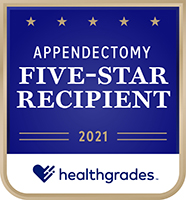 healthgrades appendectomy award
